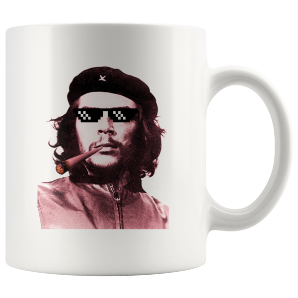 Che Guevara Thug Life Portrait Coffee Mug #cheguevara