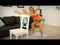 Übungen für stark Übergewichtige! Du kannst das! - YouTube #fitnessvideos