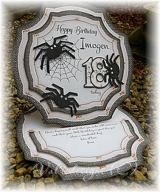Unusual 18th birthday card for a young lady that has a tarantula unusual 18th birthday card for a young lady that has a tarantula bookmarktalkfo Images