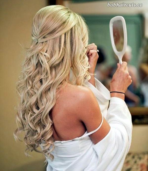 45 Medium And Short Hairstyles For Thin Hair 2 Curls For Long Hair Wedding Hair Down Hair Styles