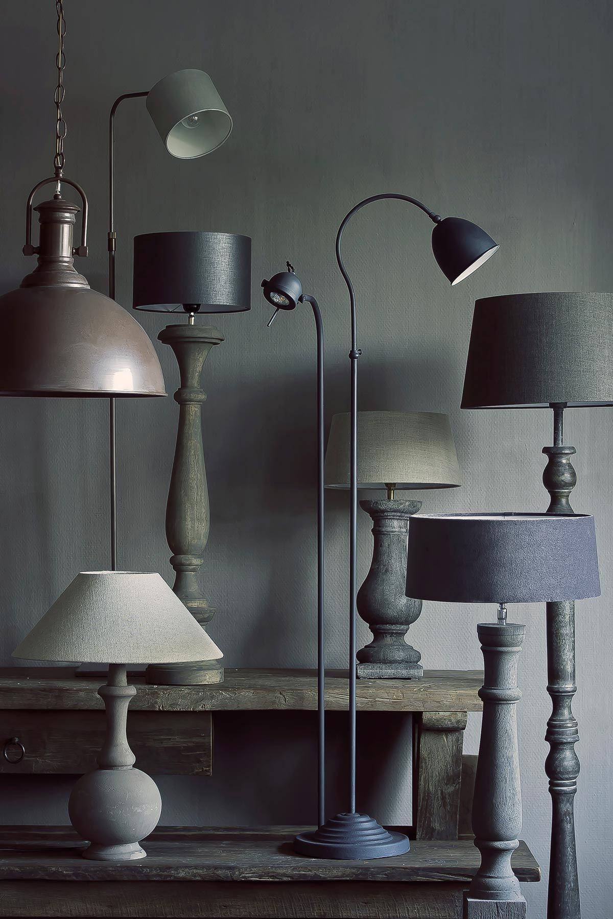 lampen tierlantijn, frezoli, hoffz, aura peeperkorn, staande lampen ...