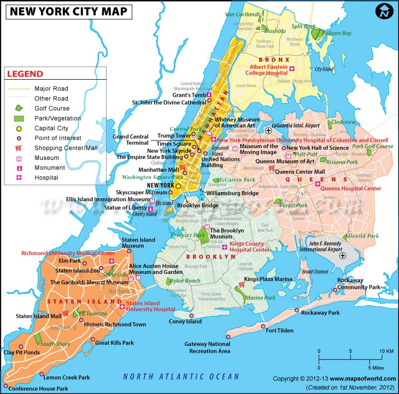 nyc map and guide