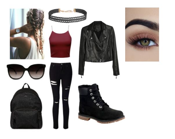 The Bad Girl and the Boys | Bad girl outfits, Badass girl ...