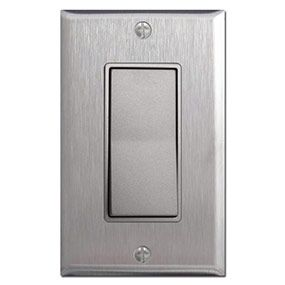 Kitchen Light Switch Covers stainless steel switch plates & nickel switches. | switch plates