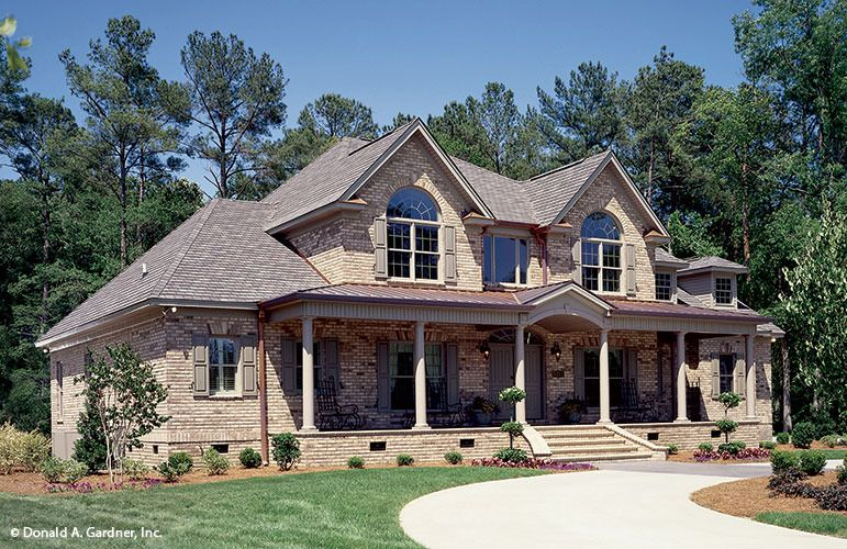 House plan the hickory ridge by donald a gardner for Donald house plans