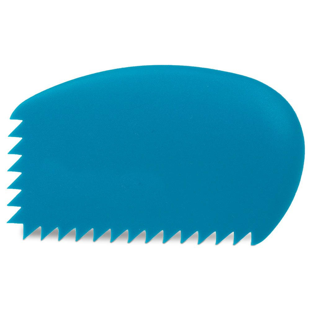 Sawtooth Silicone Decorating Comb Decorating Tools