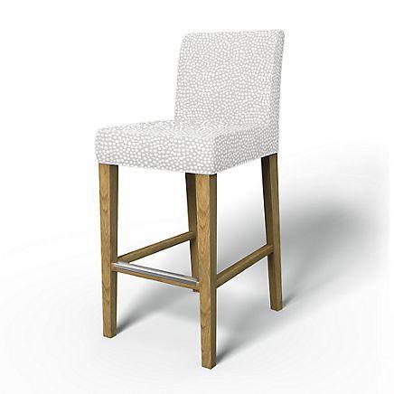 Henriksdal Barstool Cover Chair Covers Bemz Bar Stool