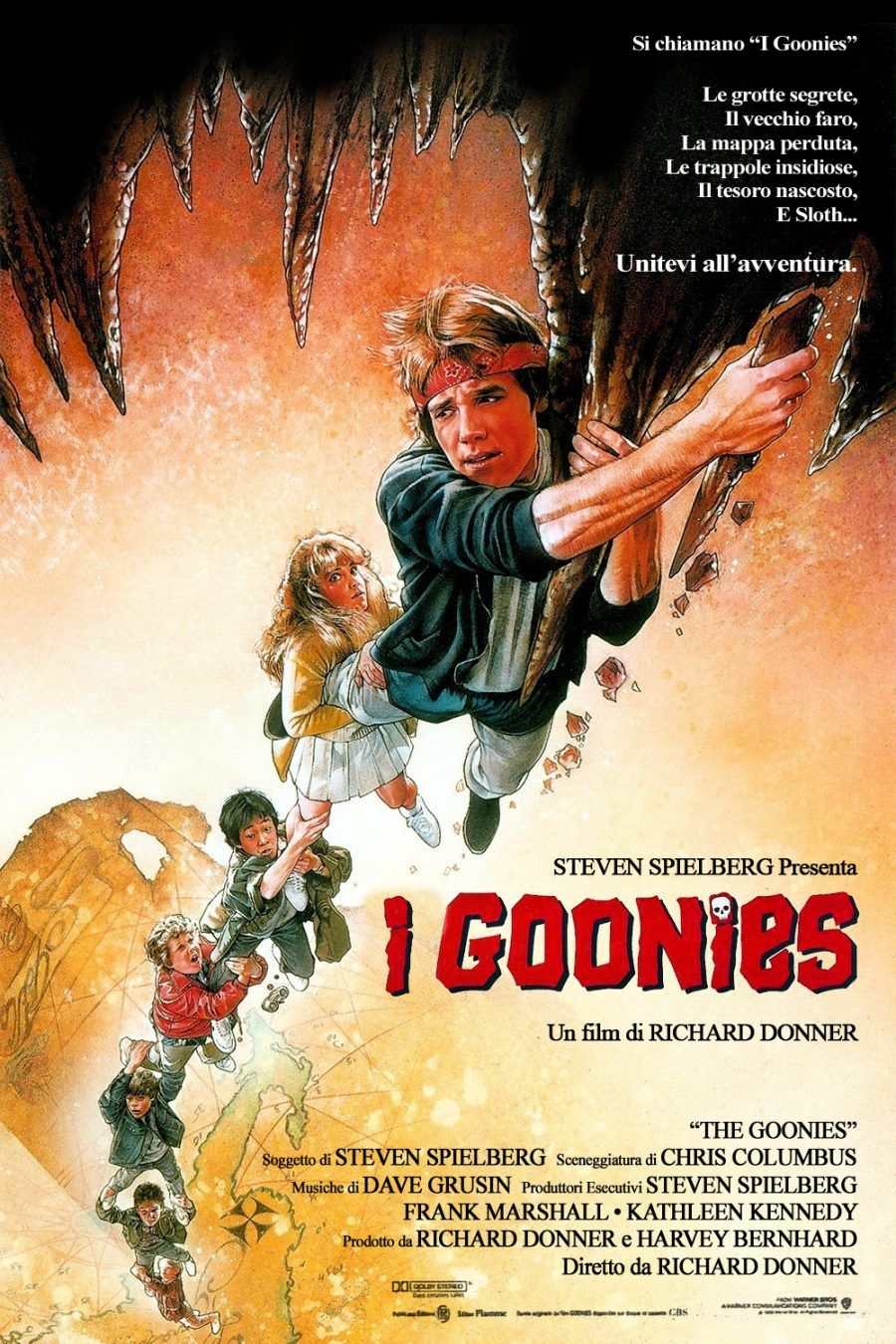 I Goonies Streaming Film E Serie Tv In Altadefinizione Hd Goonies Film D Avventura Avventura