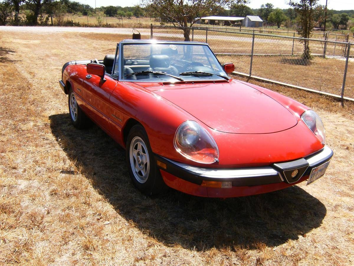 1990 Alfa Romeo Spider Veloce for sale #1803574 | Hemmings Motor News