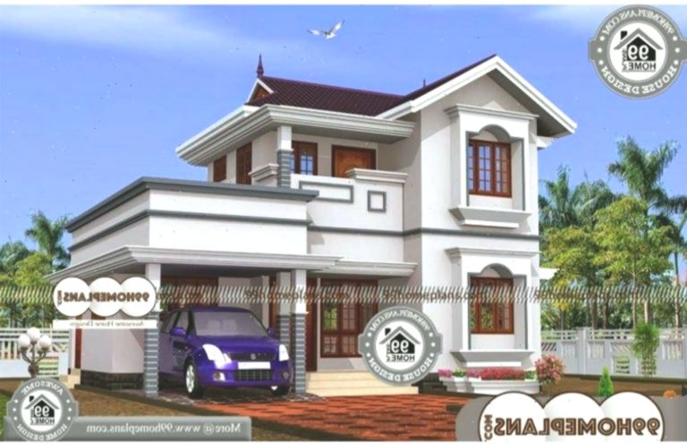 Indian House Models And Plans 2 Story 1250 Sqft Home Balkongestaltung Balconydesignele Model House Plan Kerala House Design Small Contemporary House Plans