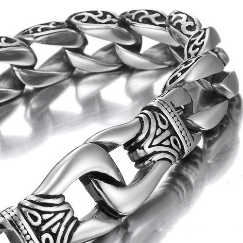 HOT URBAN MENS BRACELET Amazing Stainless Steel Mens link