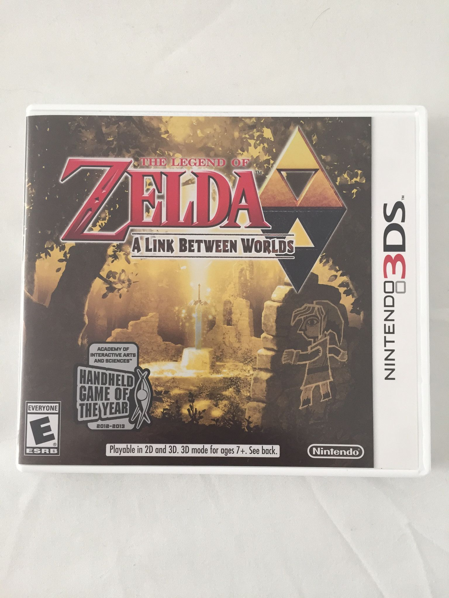 Zelda a link to the past 3ds game | Products | Nintendo 3ds, Legend