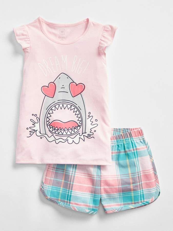 Gap Shark Short Sleep Set Gap Shop 596ee0134