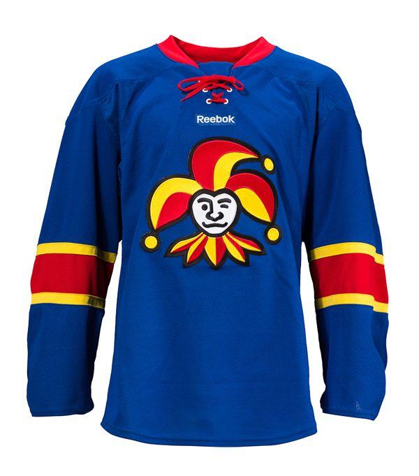 Jokerit (Finland - KHL) Blue Jersey Hockey Sweater 29b235eaba2