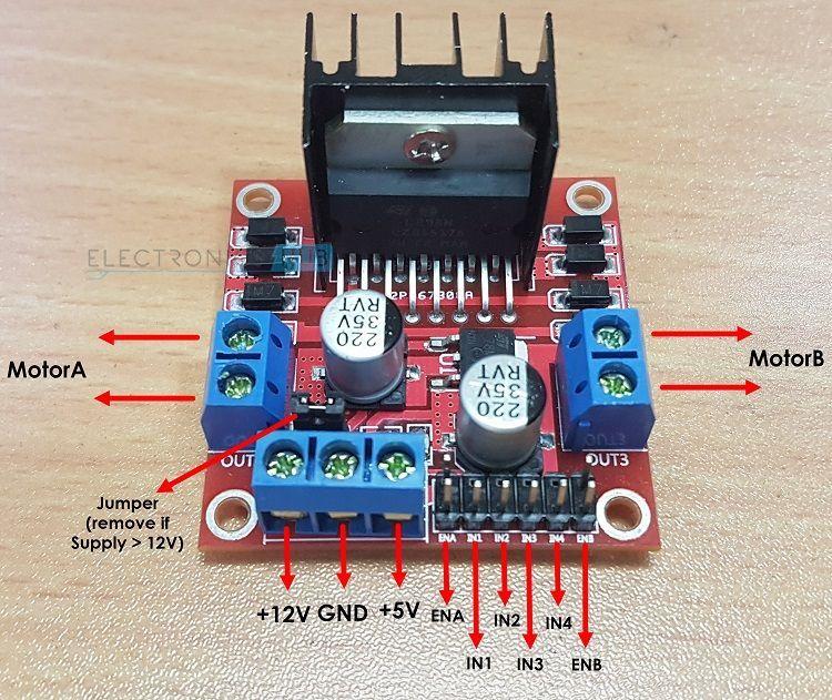 Arduino Robot Motor Controller Circuit Schematics Makeultimate
