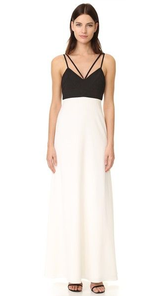 Jill Stuart Colorblock Gown Jilljillstuart Cloth Dress Top Shirt