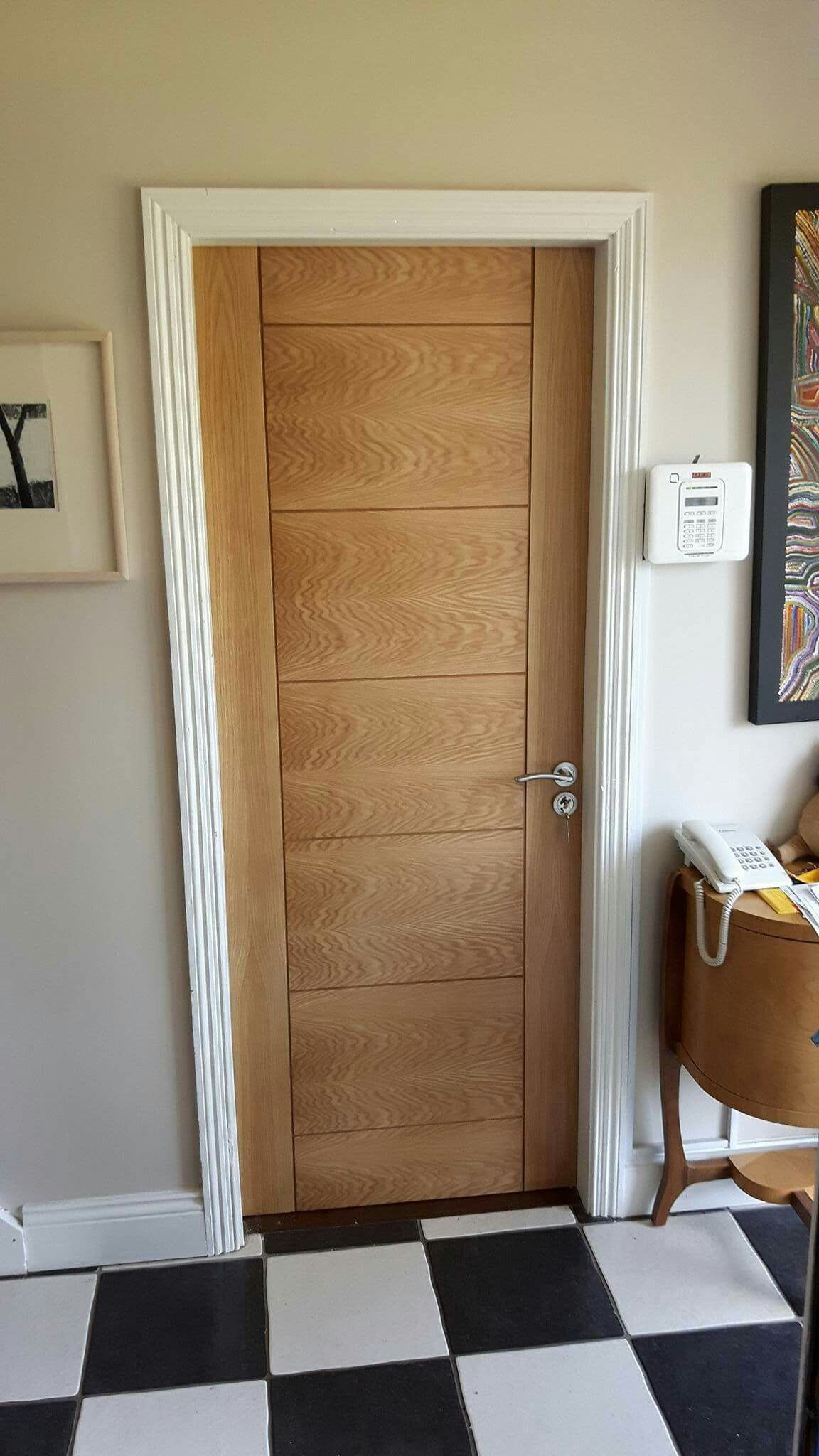 Deanta Oak Hp12 By Murphy Larkin Oak Doors Aluminium Doors Tall Cabinet Storage