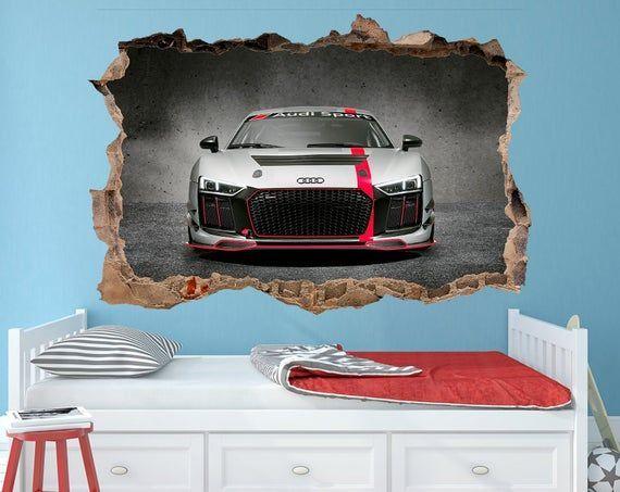 Audi R8 Decal Audi R8 sticker Audi R8 wall art @EtsyMktgTool