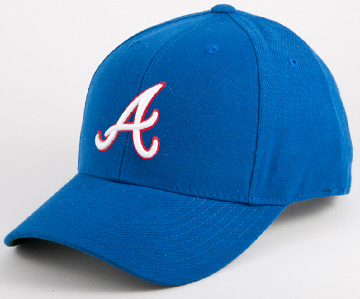 9d06b5539804a6 Atlanta Braves 1981-1986 Home Cap | Products | Atlanta braves hat ...