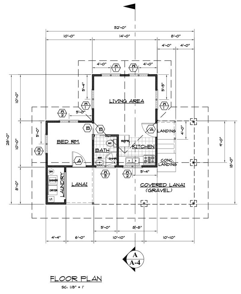 floor plan for hawaii guest house