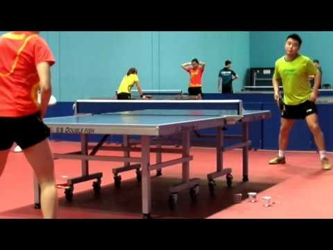 Trainning session of China Table Tennis Team in Dubai - http://tabletennishq.net/trainning-session-of-china-table-tennis-team-in-dubai/