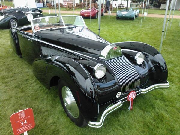 1939 Bugatti Type 57C Voll & Ruhrbeck roadster