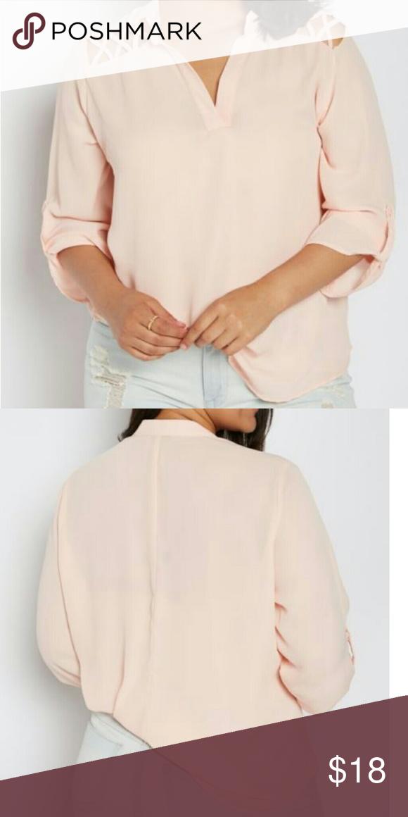 Nwt Plus Size Lattice Shoulder Blouse 1x 3x Nwt My Posh Picks