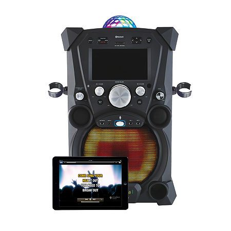 Singing Machine Carnaval Portable Hi-Def Karaoke System, One Size , Black