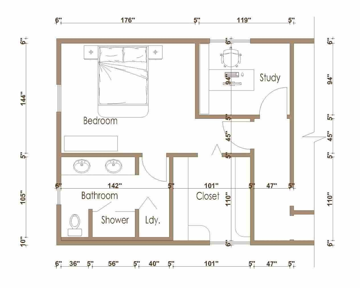 Luxury Master Bedroom Suite Floor Plans