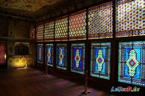 Səki Xan Sarayi Stained Glass Oriental Interior Islamic Architecture