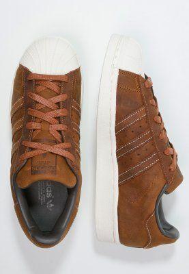 baskets basses adidas originals superstar rt baskets basses dust rust offwhite marron