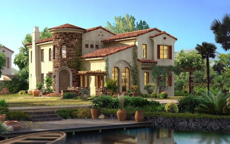 11 beautiful houses and villas homes etc tuscan house spanish rh pinterest com beautiful spanish homes pictures most beautiful spanish homes