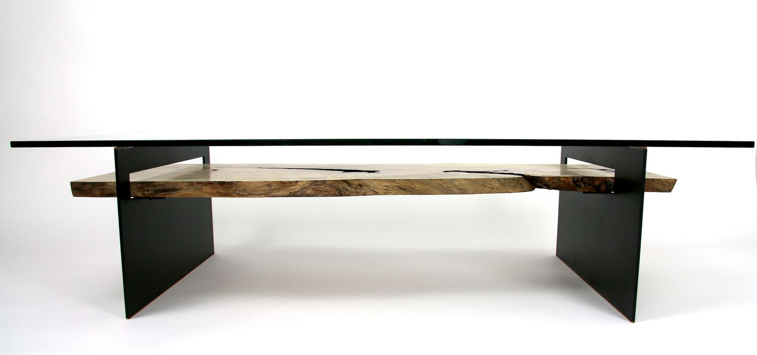 Primal Modern Furniture And Art By Michael Olshefski | Subduction Table |  Primalmodern.com |