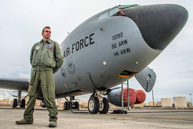 A pilot by us air force airman 1st class sean