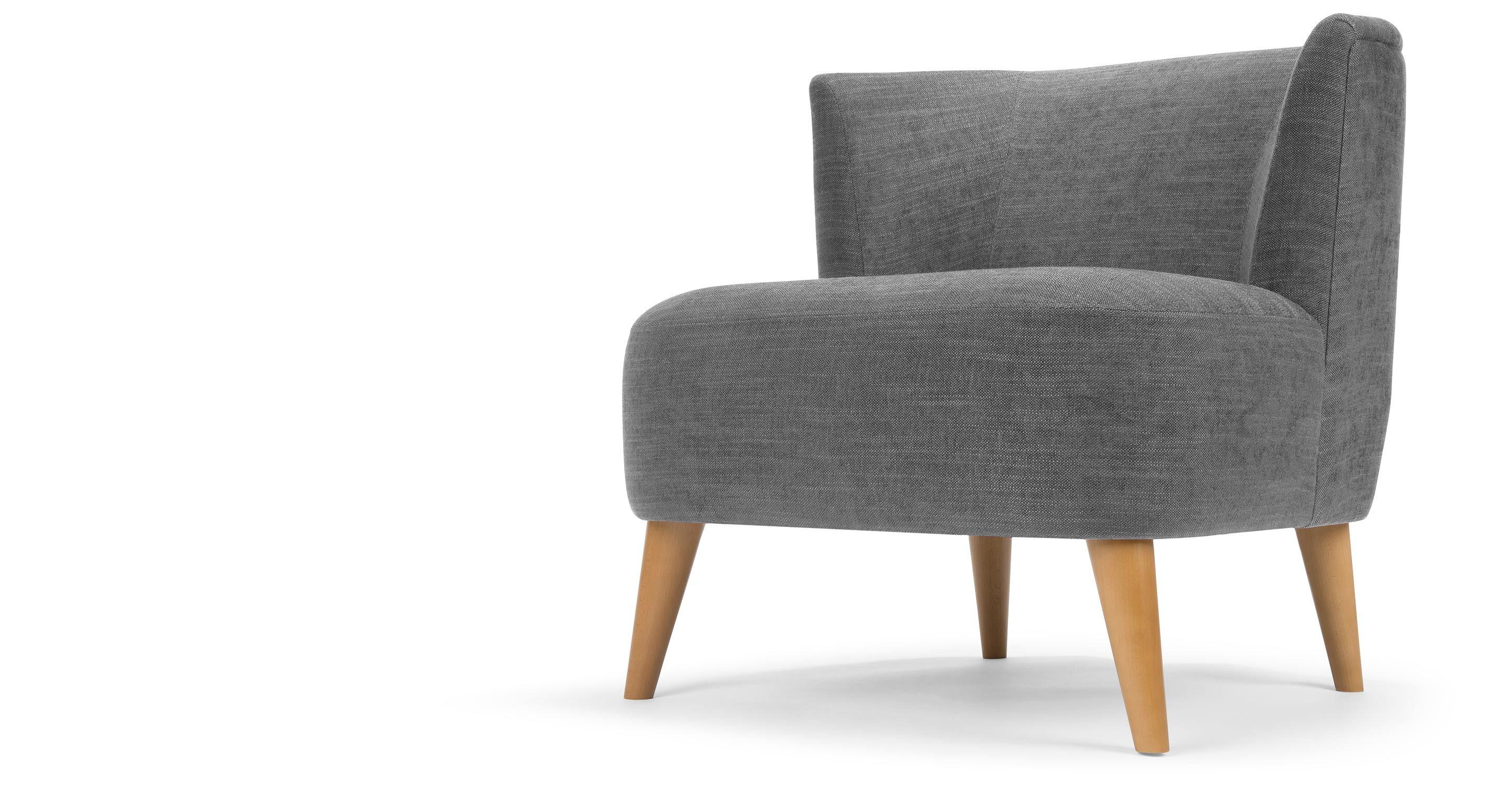 Elgar fauteuil, Cornish grijs