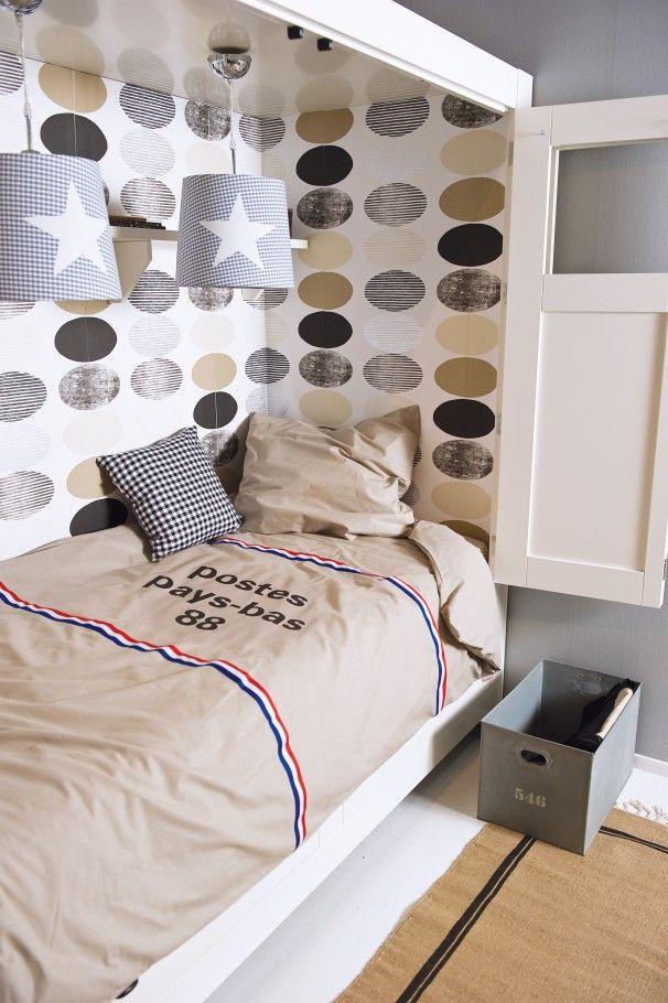 leuk behang tienerjongen kamers tienerkamer jongenskamer inrichting slaapkamerdecoratie jongenskamers kindruimtes