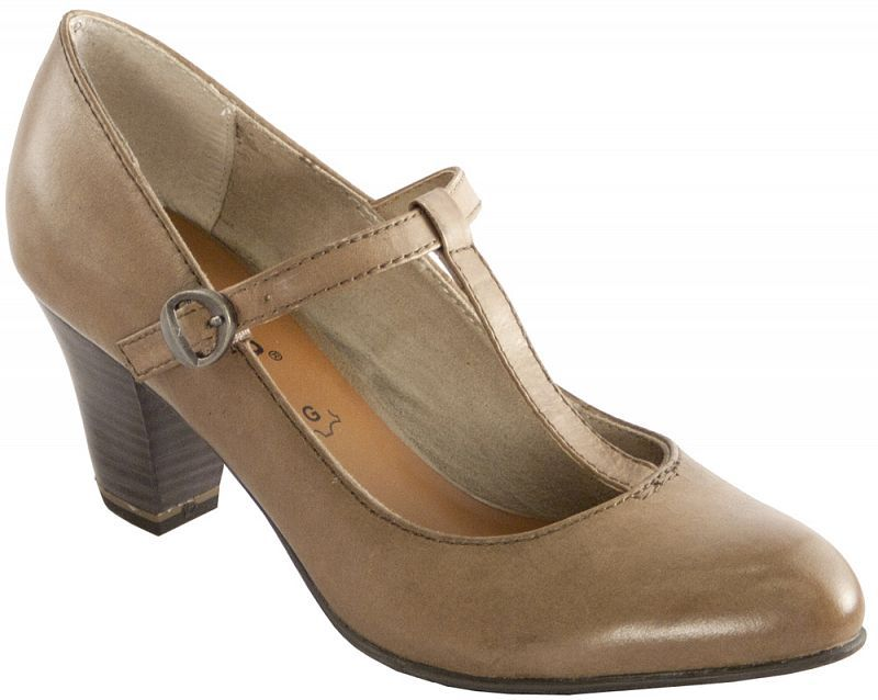 Jana női bőr magassarkú cipő Jana Webáruház  12063bb8f5