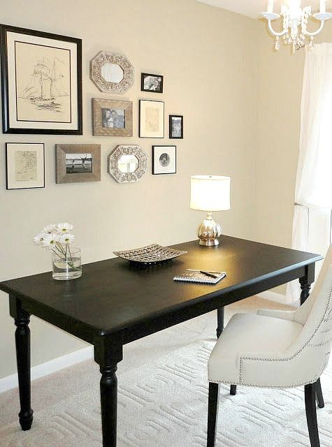 10 thrift store furniture makeovers the story of what one. Black Bedroom Furniture Sets. Home Design Ideas