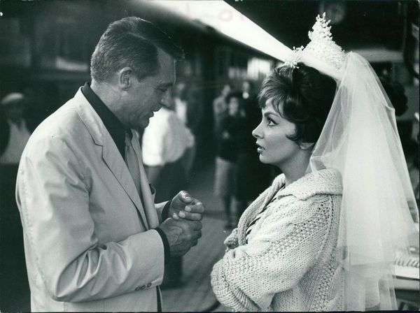 Leo Fuchs - Gina Lollobrigida and Cary Grant
