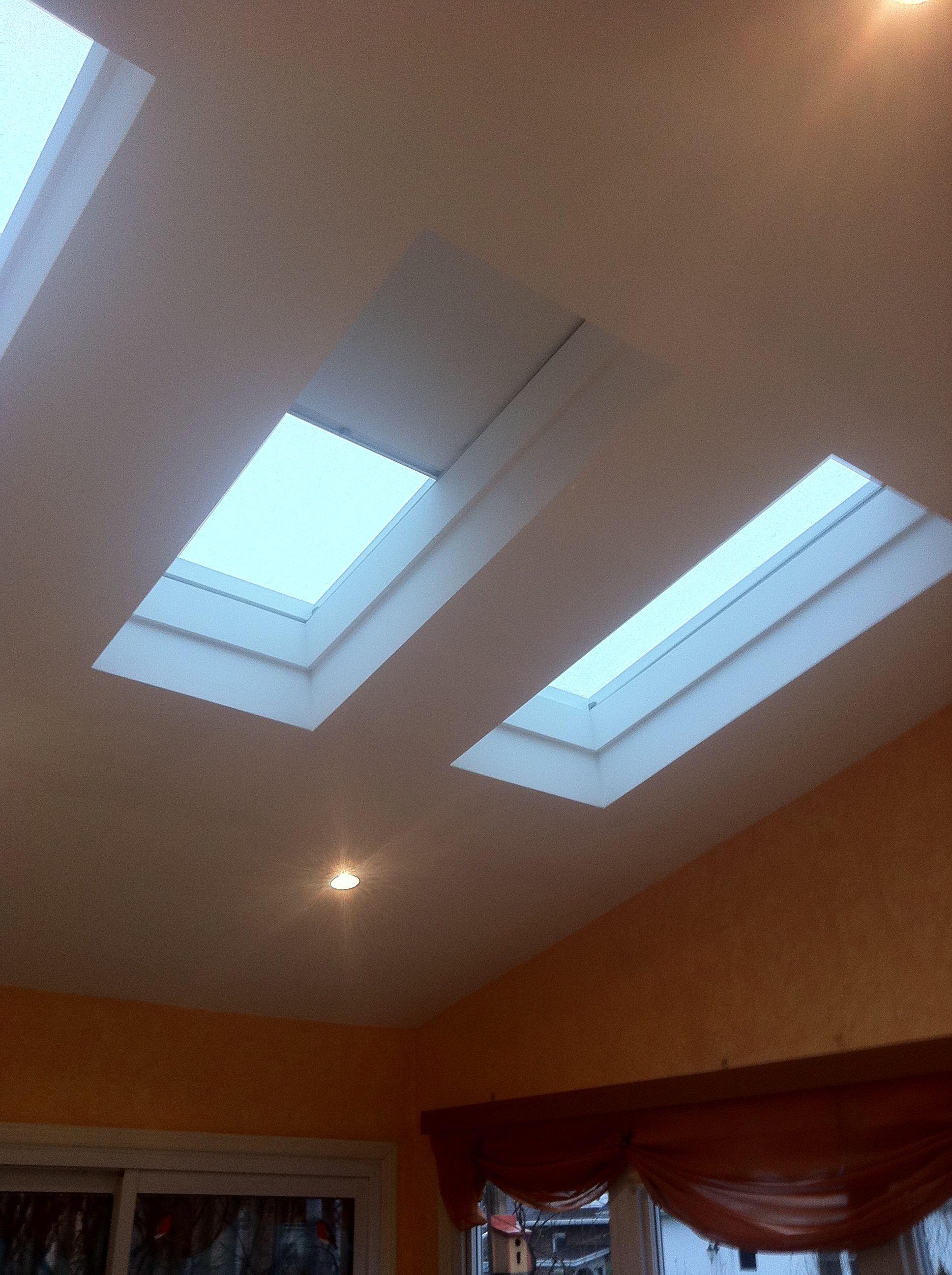 grace velux revalux skylight cream blinds eclipse