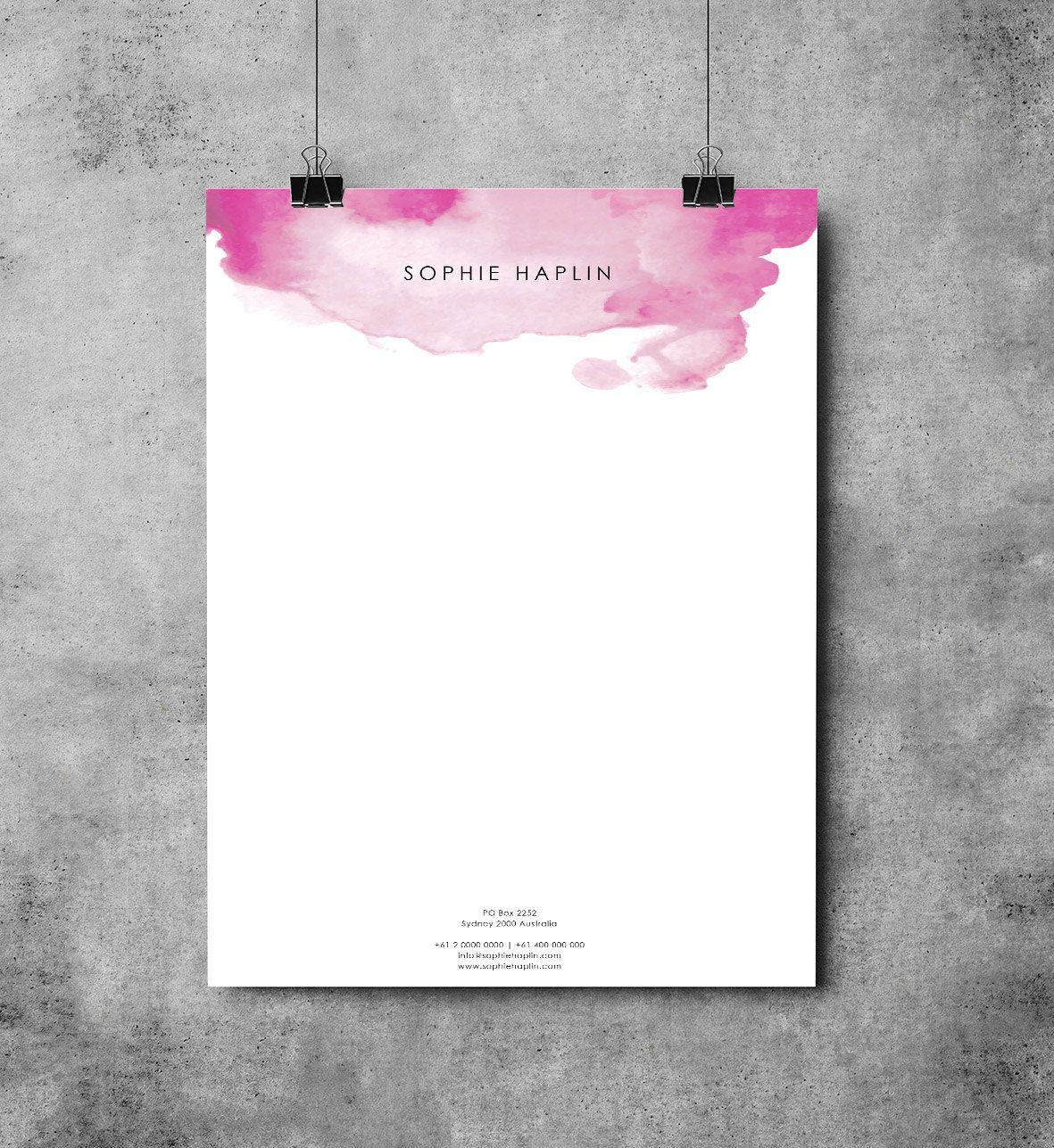 word 2007 letterhead template