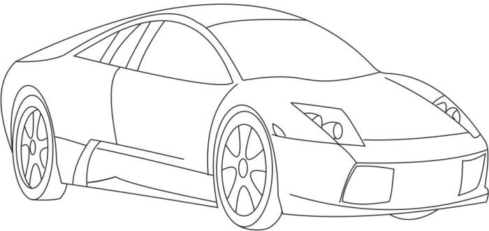 Cars Acura Tl Sport Coloring Page Sports Coloring Pages Acura
