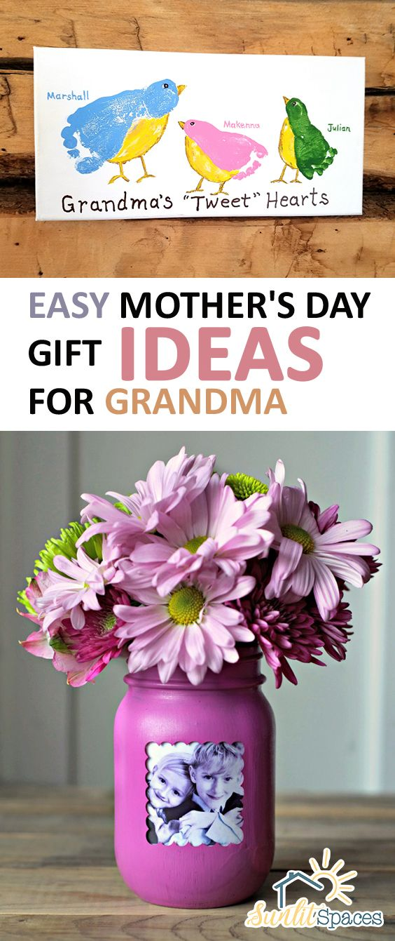 Photo of Easy Mother's Day Gift Ideas for Grandma – Sunlit Spaces | D…