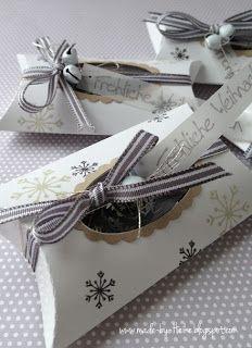 Pillow Box Basteln sunday 23 december 2012pillow box meine kreative welt pillow