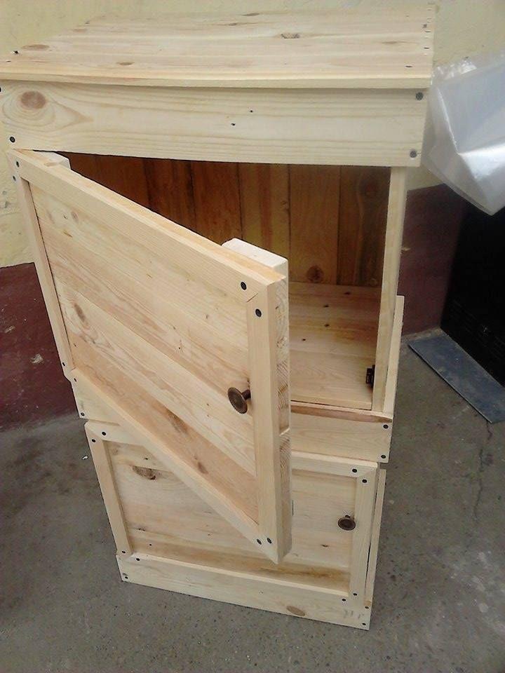 diy-pallet-floor-cabinet-and-side-table.jpg (720×960) | Pallets ...