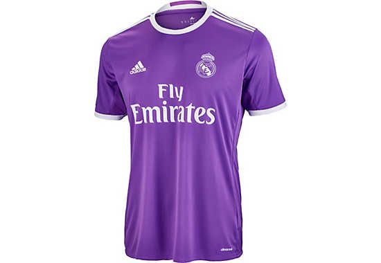Adidas Kids Real Madrid Jersey 2016 17 Real Madrid Away Jerseys