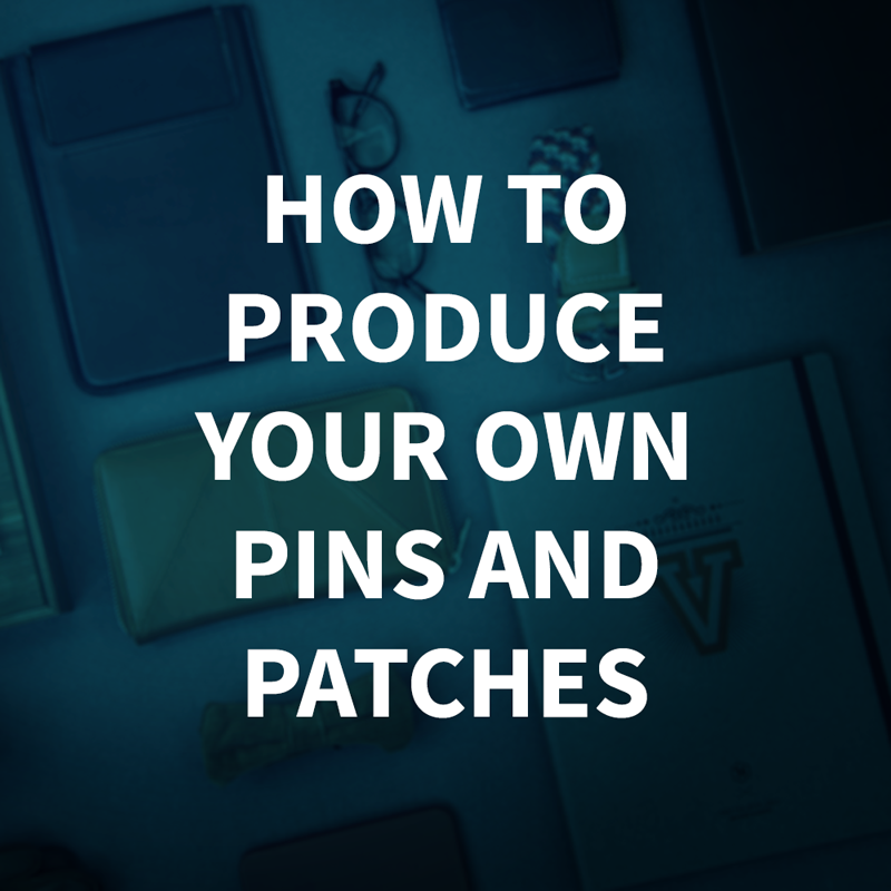 GREAT READ! Perfect for designers interested in learning how to create your own enamel pins and woven patches