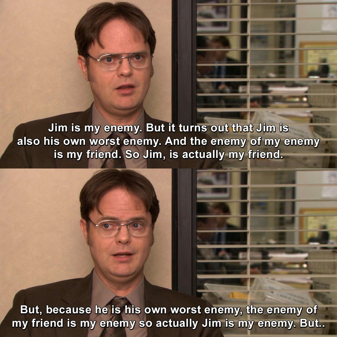 The Office Koi Pond Dwightschrute Theoffice Koipond Funnymemes Tv The Office Show Office Quotes Office Jokes