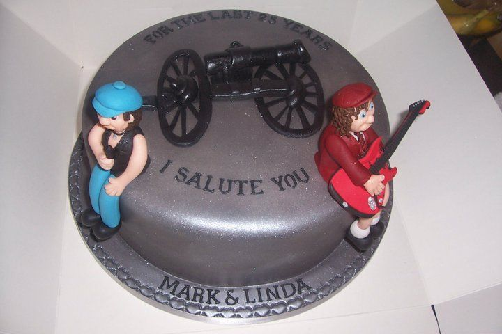 AC/DC cake