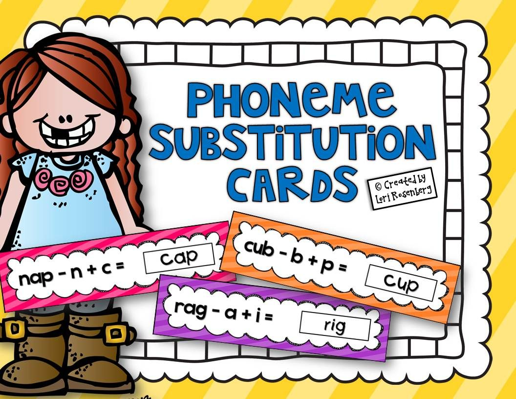 Phoneme Substitution Cards
